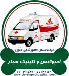 آمبولانس وکلینیک سیار حیوانات خانگی بیمارستان دامپزشکی درین