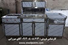 کابینت استیل صنعتی