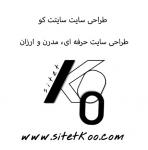 طراحی سایت سایتت کو:حرفه ای و مناسب با هر بودجه ای