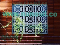 فروش سنگ مصنوعی مشبک حجاری اسلیمی ، جی اف آرسی