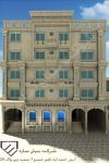 طراحی واجرای نمای ساختمان درمشهدطراحی نمای ساختمان