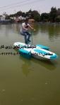 طرح جدید قایق پدالی صنایع زرین کار-قایق پدالی دوچرخه ای