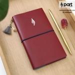 طراحی وتولیدانواع دفترچه یادداشت چرمی