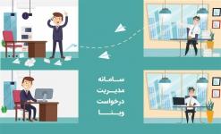 سامانه مدیریت درخواست وینا (سیستم تیکتینگ)