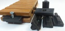 چوب پلاست - کفپوش چوب پلاست - کلیپس T کفپوش