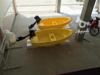 قایق دوجداره 4 و 6 نفره ، قایق پلی اتیلن