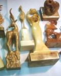 مجسمه چوبی -سفارش هنری