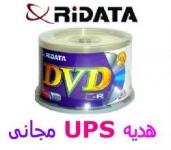 بلوری 50 ، CD ، DVD خام RiDATA  پرینتیبل