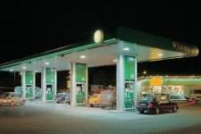 زمین پمپ بنزین در اتوبان خلیج فارس