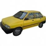 تاکسی پراید زرد