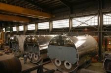 تعمیر دیگ بخار صنایع لاستیک سازی