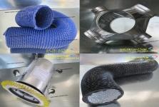 تولید کننده کانالهای انتقال هوا،شوتینگ زباله و لوله های خرطومی