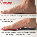 Orthotics-for-Flat-Feet-by-Samurai-Insoles-Fight-back-against-Plantar-Fasciitis-Heel-Pain-and-Pronation-Simply-Insert-Into-Mens-or-Womens-Running-Shoes-Dress-Shoes-or-Boots-Mens-6-6-12-Womens-8-8-12-0-2